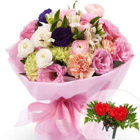 카네이션혼합꽃다발+코사지1